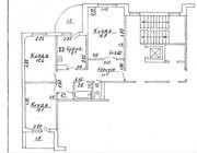3-комнатная квартира,  Гродно,  девятовка,  ул. Брикеля