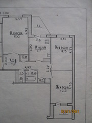 3-х комнатная квартира в Гродно