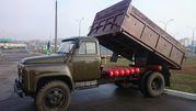 Грузоперевозки ГАЗ-53(самосв., 5т.) Песок, ПГС?кирпич, блоки, вывоз муcора