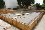 Фундамент,  Подьем Домов,  Кладка блока и кирпича в Кореличах