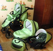 Продаётся коляска модульная Anmar Hilux 3в1